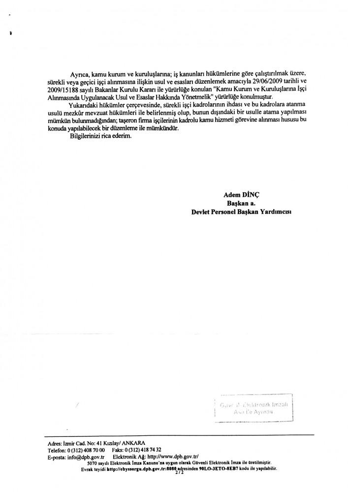 Devlet Personel Başkanlığı-2